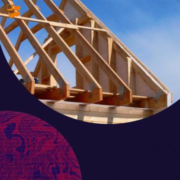 Строительство частного дома: стропила