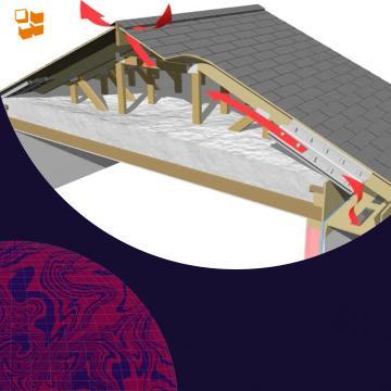 Правильная теплоизоляция и вентиляция крыши