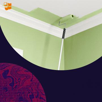 Какой краской лучше покрасить потолок?