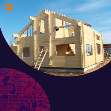 Строительство частного дома: деревянные стены