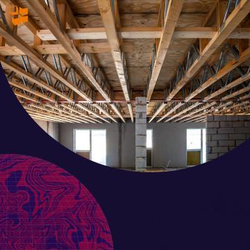 Строительство частного дома: потолки