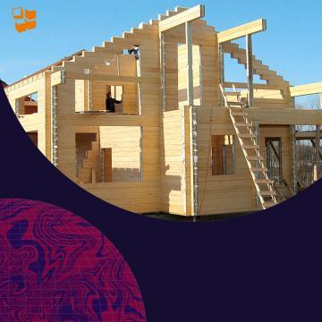 Строительство домов из клееного бруса: организационный этап строительства