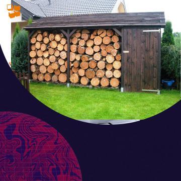 Как построить дровяник своими руками?