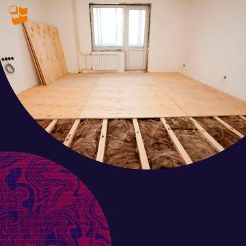 Строительство частного дома: полы
