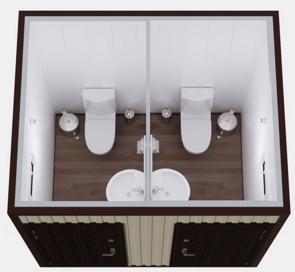 Туалетный модуль СБТ2
