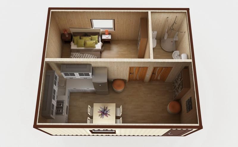 Модульный дом №1