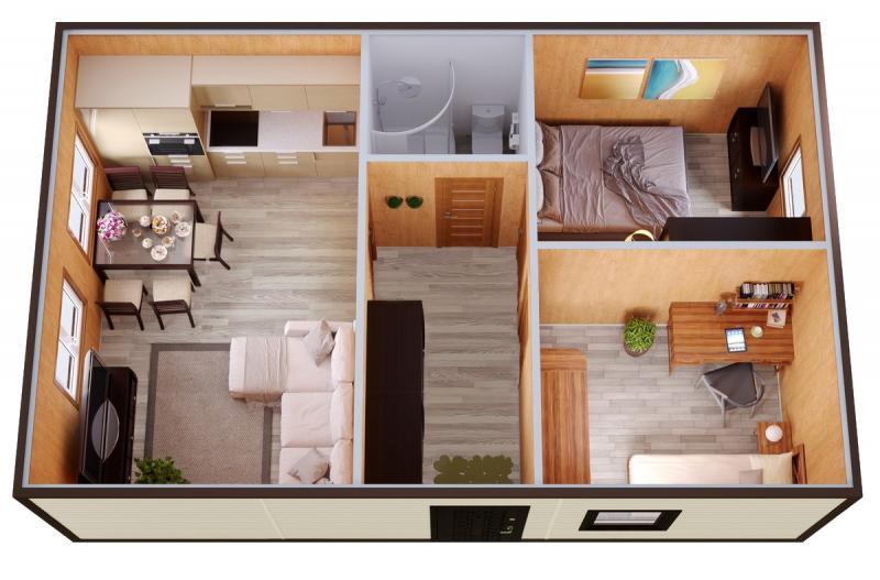 Модульный дом №11