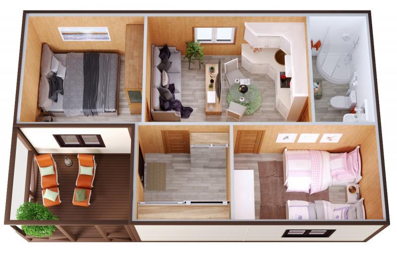 Модульный дом №12