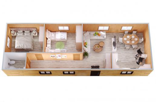 Модульный дом №15