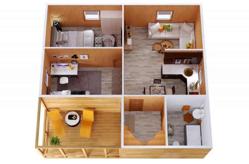 Модульный дом №16