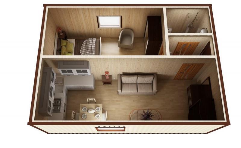 Модульный дом №2