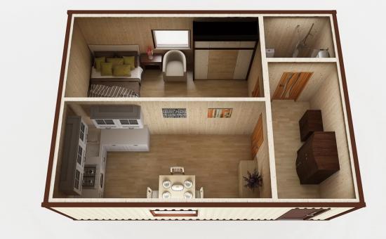 Модульный дом №3