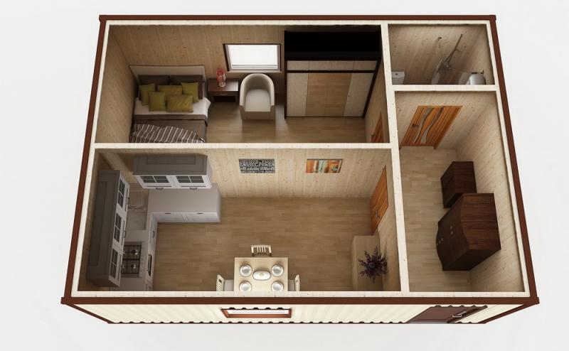 Модульный дом №17