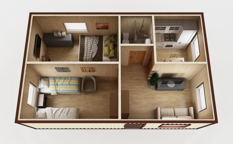 Модульный дом №6