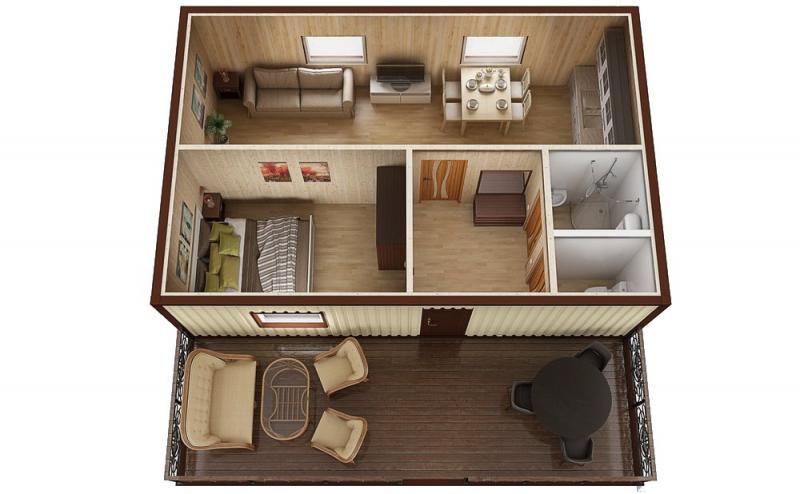 Модульный дом №7