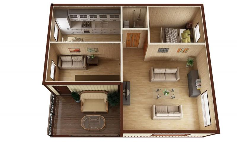Модульный дом №8