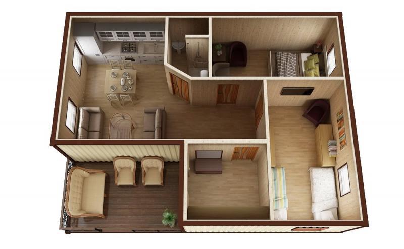 Модульный дом №9