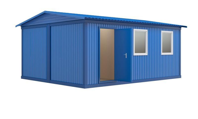 Модульное здание (2 блок-контейнера)