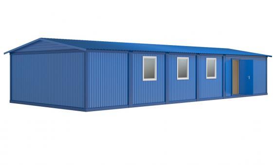 Модульное здание (6 блок-контейнеров)