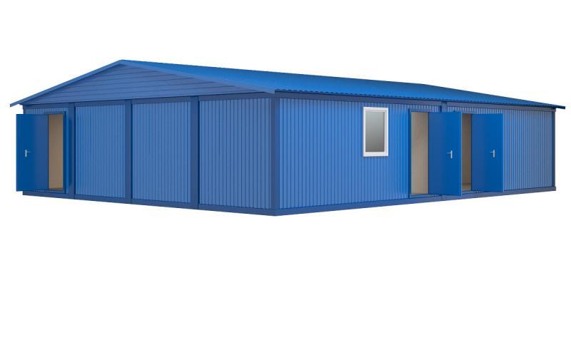 Модульное здание (8 блок-контейнеров)