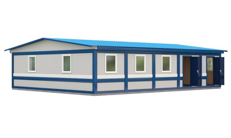 Модульная столовая (5 блок-контейнеров)
