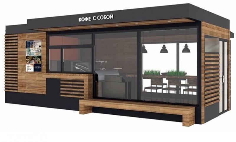 Павильон №11 - «Кофейня» 7х3м